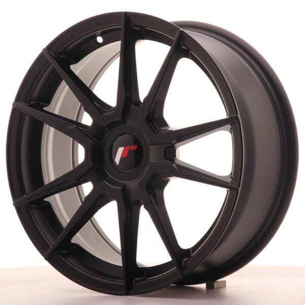 JR Wheels JR21 17x7 ET25-40 BLANK Matt Black