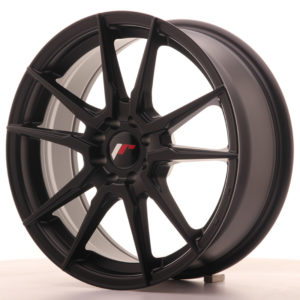JR Wheels JR21 17x7 ET25 4x100/108 Matt Black