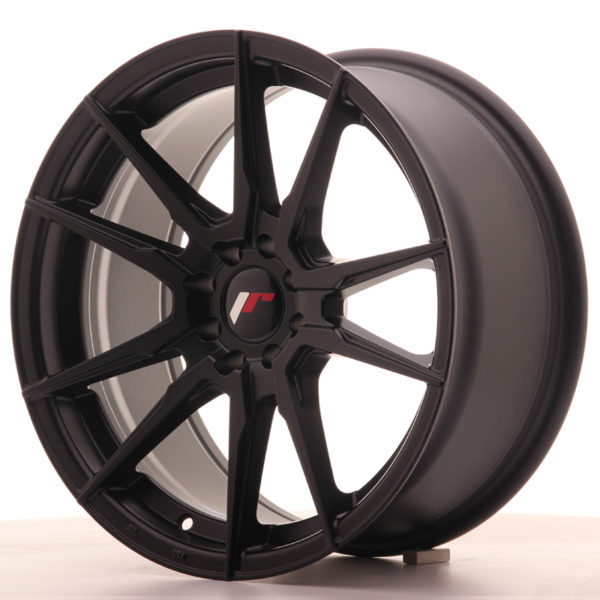 JR Wheels JR21 17x8 ET35 5x108/112 Matt Black