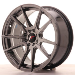 JR Wheels JR21 17x8 ET25 4x100/108 Hyper Black