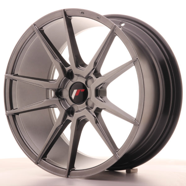 JR Wheels JR21 18x8,5 ET30-40 5H BLANK Hyper Black
