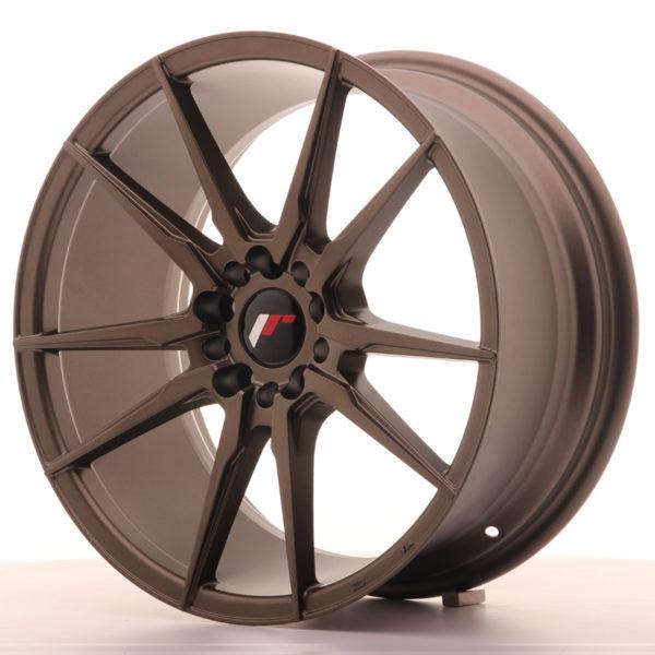 JR Wheels JR21 18x8,5 ET40 5x112/114 Matt Bronze