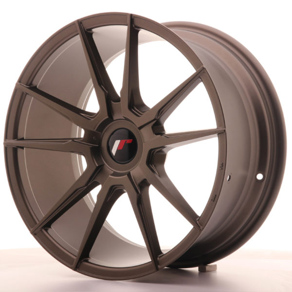 JR Wheels JR21 18x8,5 ET30-40 BLANK Matt Bronze