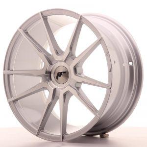 JR Wheels JR21 18x8,5 ET30-40 BLANK Silver Machined Face