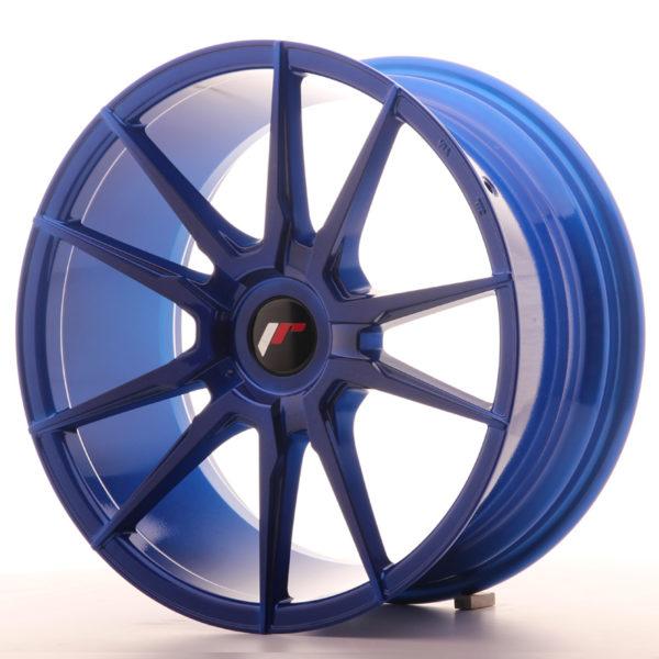 JR Wheels JR21 18x8,5 ET40 BLANK Platinum Blue