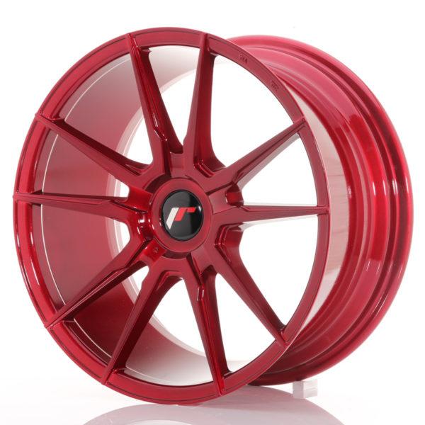 JR Wheels JR21 18x8,5 ET40 BLANK Platinum Red