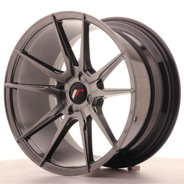 JR Wheels JR21 18x9,5 ET30-40 4H BLANK Hyper Black