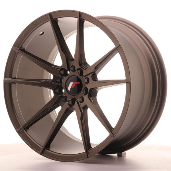 JR Wheels JR21 18x9,5 ET35 5x100/120 Matt Bronze