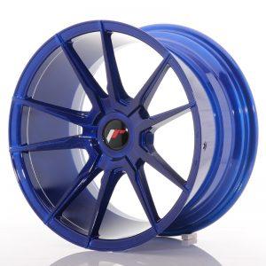 JR Wheels JR21 18x9,5 ET20-40 BLANK Platinum Blue