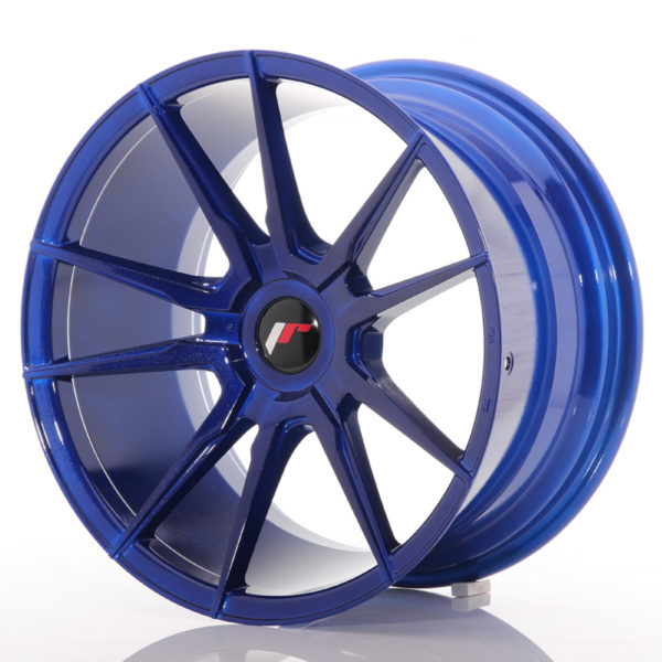 JR Wheels JR21 18x9,5 ET20-40 BLANK Platinum Blue
