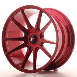 JR Wheels JR21 18x9,5 ET40 BLANK Platinum Red