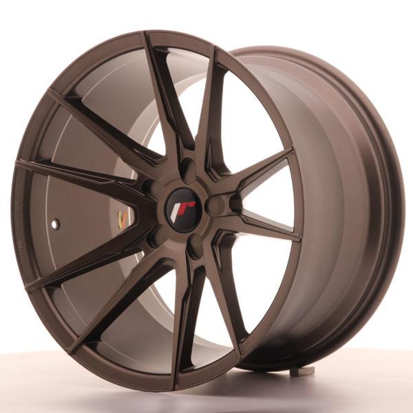 JR Wheels JR21 19x11 ET15-30 5H BLANK Matt Bronze