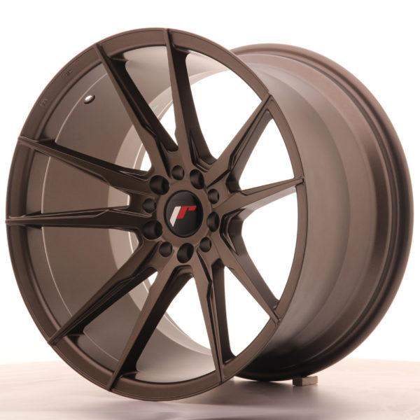 JR Wheels JR21 19x11 ET25 5x114/120 Matt Bronze
