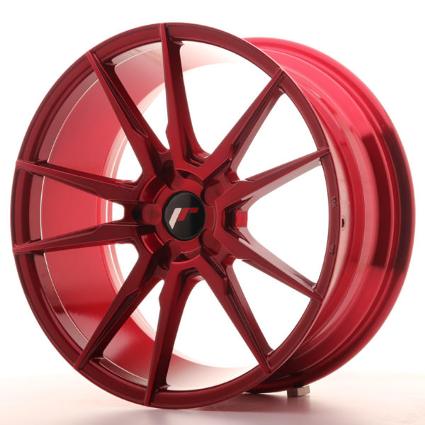 JR Wheels JR21 19x8,5 ET20-43 5H BLANK Platinum Red