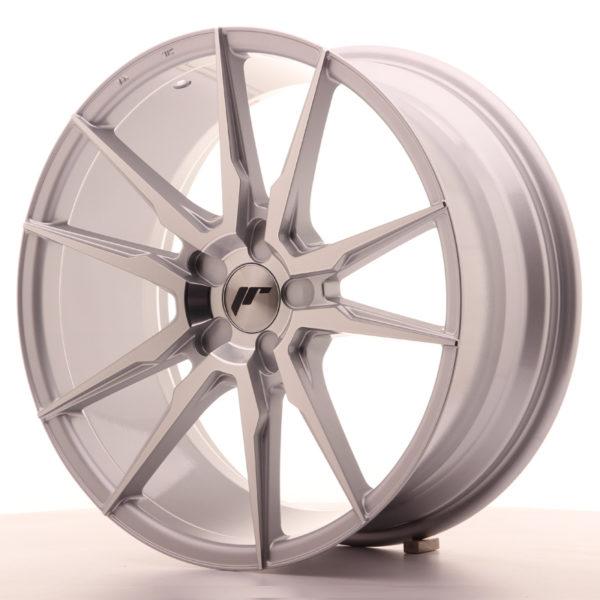 JR Wheels JR21 19x8,5 ET20-43 5H BLANK Silver Machined Face