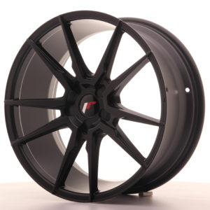 Japan Racing JR21 19x8,5 ET35-43 5H Blank Matt Bla