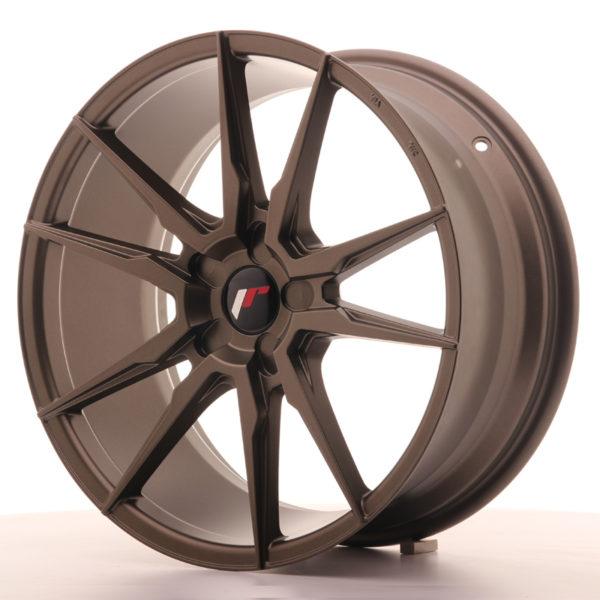 JR Wheels JR21 19x8,5 ET35-43 5H BLANK Matt Bronze