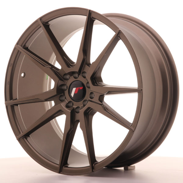 JR Wheels JR21 19x8,5 ET35 5x100/120 Matt Bronze
