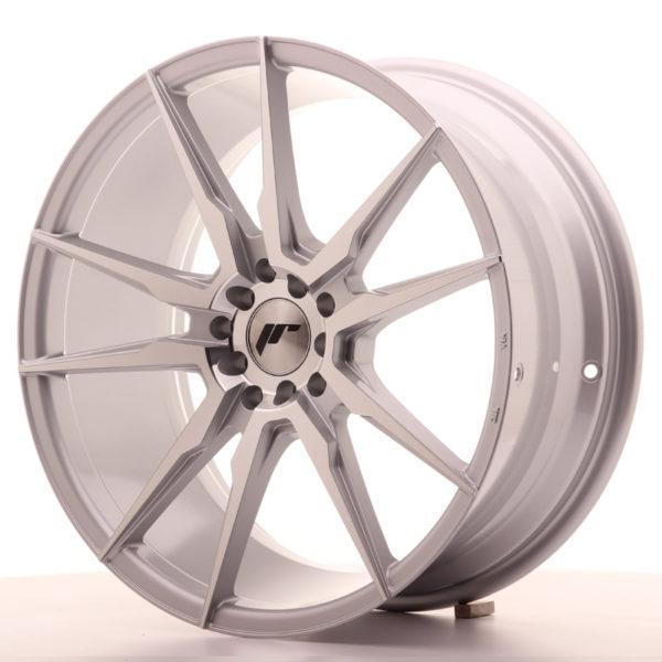 JR Wheels JR21 19x8,5 ET35 5x100/120 Silver Machined Face