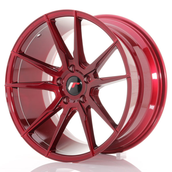 JR Wheels JR21 19x9,5 ET35 5x120 Platinum Red