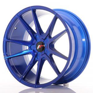 JR Wheels JR21 19x9,5 ET35-40 5H BLANK Platinum Blue
