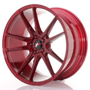 JR Wheels JR21 20x10 ET40 5x112 Platinum Red