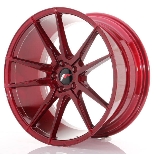 JR Wheels JR21 20x10 ET40 5x112 Platinum Red
