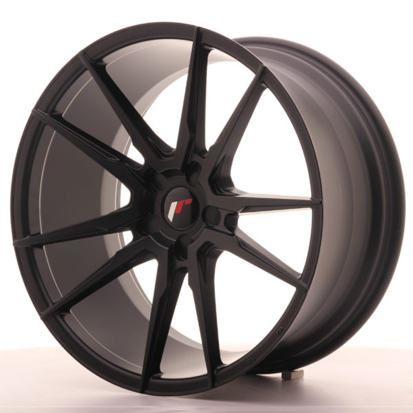 JR Wheels JR21 20x10 ET40 5H BLANK Matt Black