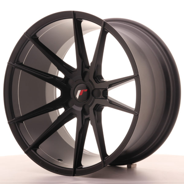 JR Wheels JR21 20x11 ET20-30 5H BLANK Matt Black