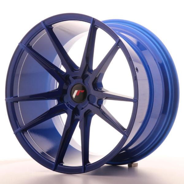 JR Wheels JR21 20x11 ET20-30 5H BLANK Platinum Blue
