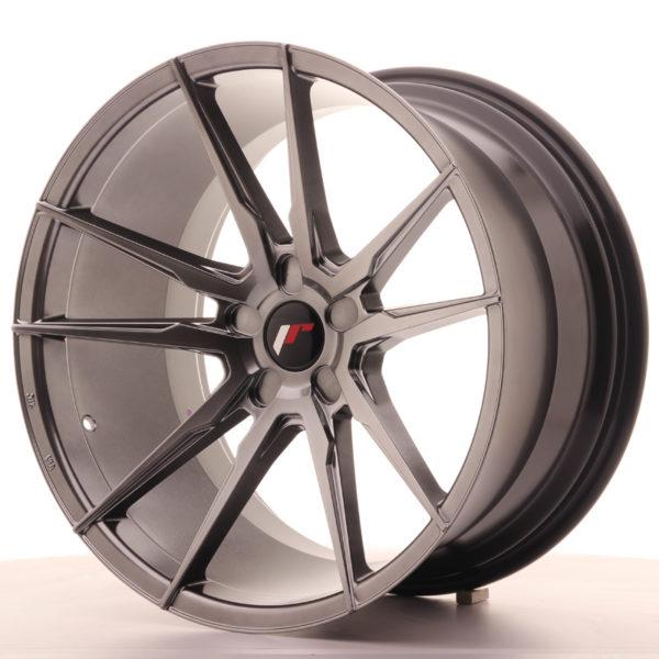 JR Wheels JR21 20x11 ET20-30 5H BLANK Hyper Black