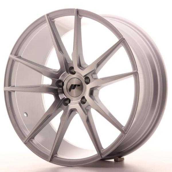 JR Wheels JR21 20x8,5 ET40 5x120 Silver Machined Face