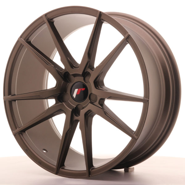 JR Wheels JR21 20x8,5 ET20-40 5H BLANK Matt Bronze