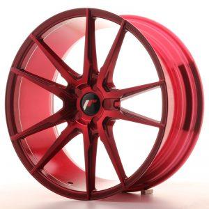 JR Wheels JR21 20x8,5 ET40 5H BLANK Platinum Red