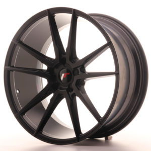 JR Wheels JR21 21x10 ET15-48 5H BLANK Matt Black