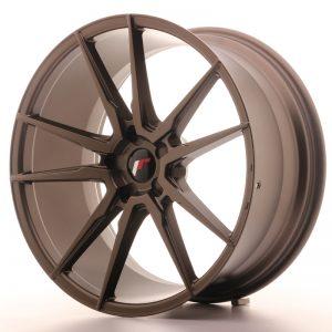 JR Wheels JR21 21x10 ET15-48 5H BLANK Matt Bronze