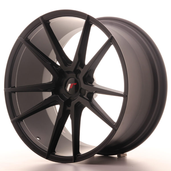 JR Wheels JR21 21x11 ET15-55 5H BLANK Matt Black