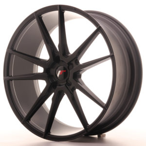 JR Wheels JR21 22x9 ET30-45 5H BLANK Matt Black