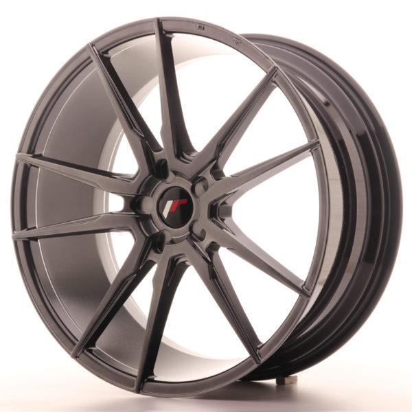 JR Wheels JR21 22x9,5 ET30-48 5H BLANK Hyper Black