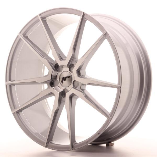 JR Wheels JR21 22x9,5 ET30-48 5H BLANK Silver Machined Face