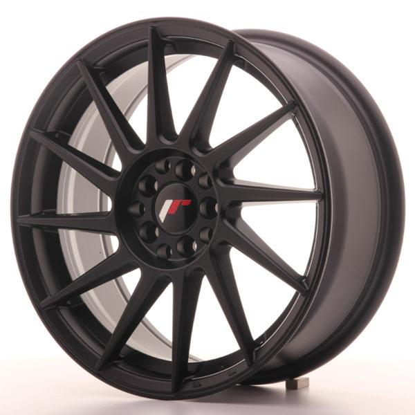 JR Wheels JR22 17x7 ET35 5x100/114 Matt Black