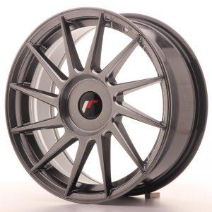 JR Wheels JR22 17x7 ET35-40 BLANK Hyper Black