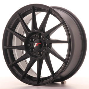 JR Wheels JR22 17x7 ET25 4x100/108 Matt Black