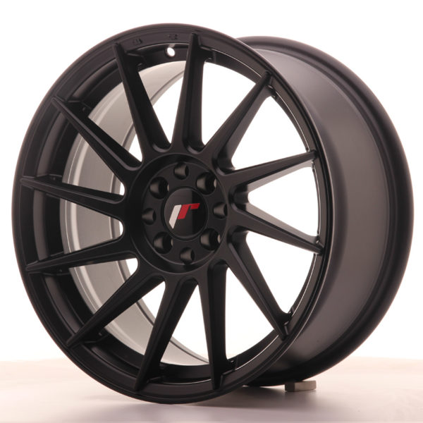 JR Wheels JR22 17x8 ET35 5x100/114 Matt Black