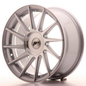 JR Wheels JR22 17x8 ET35 BLANK Silver Machined Face