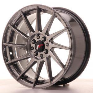 JR Wheels JR22 17x8 ET25 4x100/108 Hyper Black