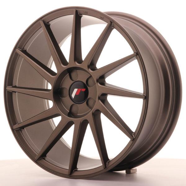 JR Wheels JR22 18x7,5 ET35-40 5H BLANK Matt Bronze