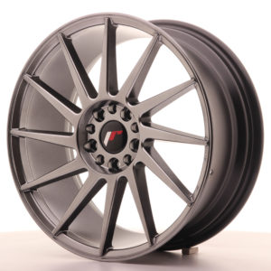 JR Wheels JR22 18x7,5 ET40 5x112/114 Hyper Black