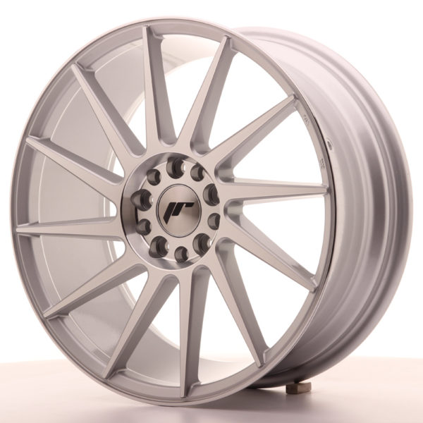 JR Wheels JR22 18x7,5 ET40 5x112/114 Silver Machined Face