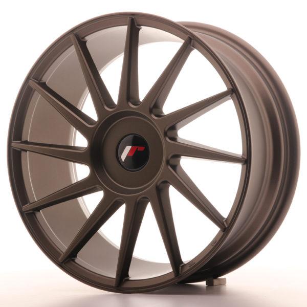 JR Wheels JR22 18x7,5 ET35-42 BLANK Matt Bronze